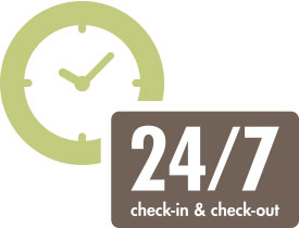 24/7 Check-in & Check-out
